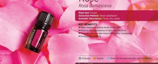 Ulei esential de Trandafir (ROSE – Rosa damascena) – doTERRA